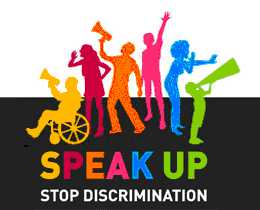 Stop discrimination poster The Equality & Human Rights Commission Articles