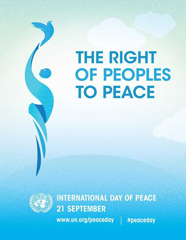 UN Peace Day poster The Equality & Human Rights Commission The Equality & Human Rights Commission News